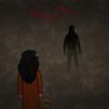 """Nishi Zeichnung von Jeremie Michels. Man sieht ein junges Mädchen mit dunkler Haut und schwarzen Haaren in der Dunkelheit stehen. Sie trägt ein orangenes Kleid. Sie hat einem den Rücken zugewandt und hält einen Teddybären in ihrer rechten Hand. In der Ferne sieht man eine dunkle Silhouette mit roten Augen. Über der Silhouette steht in roter unheimlicher Schrift """"Ananya! Ananya!"""""""